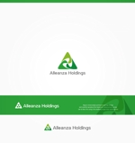 Cobalt_B1ueさんのアレンザホールディングス株式会社「Alleanza Holdings」の会社ロゴマークへの提案