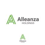 Juntaroさんのアレンザホールディングス株式会社「Alleanza Holdings」の会社ロゴマークへの提案