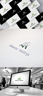katsu31さんのアレンザホールディングス株式会社「Alleanza Holdings」の会社ロゴマークへの提案