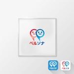 hiradateさんのコミュニケーション(SNS)モバイルアプリケーションのロゴ(複数の人格・リアルに会った人)への提案
