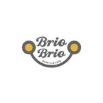 pinkpankさんのカリフォルニアにオープン予定のカフェ「Brio Brio」のロゴへの提案