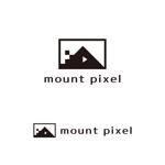 yellow_frogさんの「mount pixel」のロゴ への提案