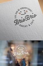 ns_worksさんのカリフォルニアにオープン予定のカフェ「Brio Brio」のロゴへの提案