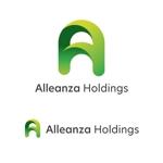 ToneStudioさんのアレンザホールディングス株式会社「Alleanza Holdings」の会社ロゴマークへの提案