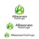 perles_de_verreさんのアレンザホールディングス株式会社「Alleanza Holdings」の会社ロゴマークへの提案