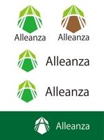 dd51さんのアレンザホールディングス株式会社「Alleanza Holdings」の会社ロゴマークへの提案