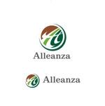 saki8さんのアレンザホールディングス株式会社「Alleanza Holdings」の会社ロゴマークへの提案