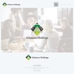 onesizefitsallさんのアレンザホールディングス株式会社「Alleanza Holdings」の会社ロゴマークへの提案