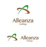 waami01さんのアレンザホールディングス株式会社「Alleanza Holdings」の会社ロゴマークへの提案