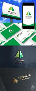 rochasさんのアレンザホールディングス株式会社「Alleanza Holdings」の会社ロゴマークへの提案