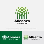 drkigawaさんのアレンザホールディングス株式会社「Alleanza Holdings」の会社ロゴマークへの提案
