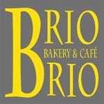 larry32さんのカリフォルニアにオープン予定のカフェ「Brio Brio」のロゴへの提案