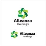 queuecatさんのアレンザホールディングス株式会社「Alleanza Holdings」の会社ロゴマークへの提案