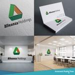 nekosuさんのアレンザホールディングス株式会社「Alleanza Holdings」の会社ロゴマークへの提案