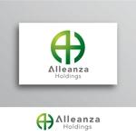 White-designさんのアレンザホールディングス株式会社「Alleanza Holdings」の会社ロゴマークへの提案
