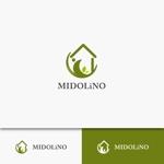 kyawa-cさんの新規に立ち上げる外構工事会社「MIDOLiNO」のロゴマーク作成依頼への提案