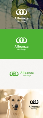 tanaka10さんのアレンザホールディングス株式会社「Alleanza Holdings」の会社ロゴマークへの提案