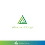 red3841さんのアレンザホールディングス株式会社「Alleanza Holdings」の会社ロゴマークへの提案