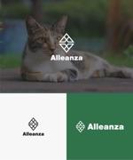 baku_modokiさんのアレンザホールディングス株式会社「Alleanza Holdings」の会社ロゴマークへの提案