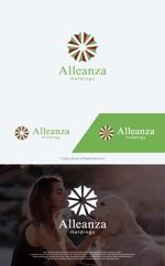 take5-designさんのアレンザホールディングス株式会社「Alleanza Holdings」の会社ロゴマークへの提案