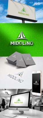 katsu31さんの新規に立ち上げる外構工事会社「MIDOLiNO」のロゴマーク作成依頼への提案