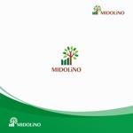chiaroさんの新規に立ち上げる外構工事会社「MIDOLiNO」のロゴマーク作成依頼への提案