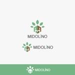 yybooさんの新規に立ち上げる外構工事会社「MIDOLiNO」のロゴマーク作成依頼への提案