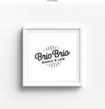 DeeDeeGraphicsさんのカリフォルニアにオープン予定のカフェ「Brio Brio」のロゴへの提案
