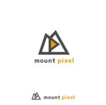 uetyさんの「mount pixel」のロゴ への提案