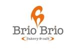 zetchanさんのカリフォルニアにオープン予定のカフェ「Brio Brio」のロゴへの提案