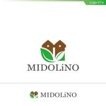 fs8156さんの新規に立ち上げる外構工事会社「MIDOLiNO」のロゴマーク作成依頼への提案