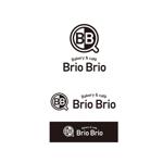 K-digitalsさんのカリフォルニアにオープン予定のカフェ「Brio Brio」のロゴへの提案