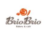 momozow1219さんのカリフォルニアにオープン予定のカフェ「Brio Brio」のロゴへの提案