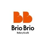 TIHI-TIKIさんのカリフォルニアにオープン予定のカフェ「Brio Brio」のロゴへの提案