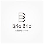 siftさんのカリフォルニアにオープン予定のカフェ「Brio Brio」のロゴへの提案