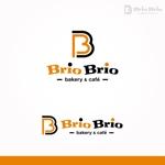 fujiseyooさんのカリフォルニアにオープン予定のカフェ「Brio Brio」のロゴへの提案