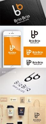 smoke-smokeさんのカリフォルニアにオープン予定のカフェ「Brio Brio」のロゴへの提案