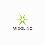 designdesignさんの新規に立ち上げる外構工事会社「MIDOLiNO」のロゴマーク作成依頼への提案