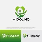 drkigawaさんの新規に立ち上げる外構工事会社「MIDOLiNO」のロゴマーク作成依頼への提案