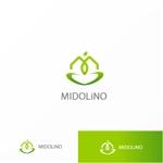 Jellyさんの新規に立ち上げる外構工事会社「MIDOLiNO」のロゴマーク作成依頼への提案