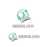saki8さんの新規に立ち上げる外構工事会社「MIDOLiNO」のロゴマーク作成依頼への提案
