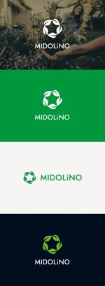 tanaka10さんの新規に立ち上げる外構工事会社「MIDOLiNO」のロゴマーク作成依頼への提案
