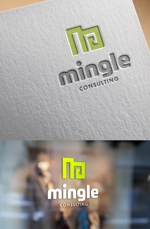 ns_worksさんの【感謝!見つけてくださり有難う御座います】ちょっと変わったコンサルティング会社のロゴへの提案