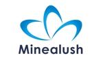 miuhina0106さんのマツエクサロン『Minea lush』のロゴへの提案