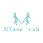 K2008さんのマツエクサロン『Minea lush』のロゴへの提案