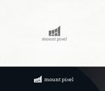 ORI-GINさんの「mount pixel」のロゴ への提案