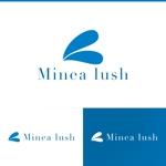 athenaabyzさんのマツエクサロン『Minea lush』のロゴへの提案