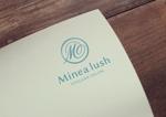 ALTAGRAPHさんのマツエクサロン『Minea lush』のロゴへの提案