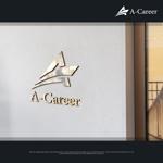 Karma_228さんの外国人材紹介、日本語教育「A-Career」のロゴへの提案