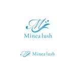 VEROさんのマツエクサロン『Minea lush』のロゴへの提案